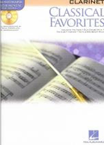 Classical Favourites Clarinet Book & Cd