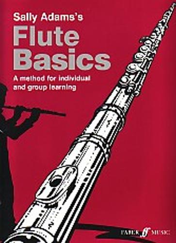 Flute Basics Adams Pupils Book & Cd