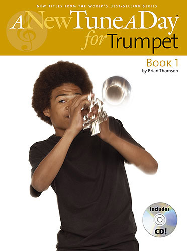 New Tune A Day Trumpet Cornet Book & Cd