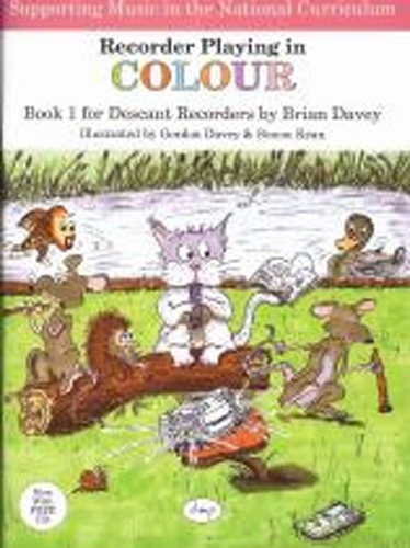 Recorder Playing In Colour Bk 1 (Descant) Bk & Cd