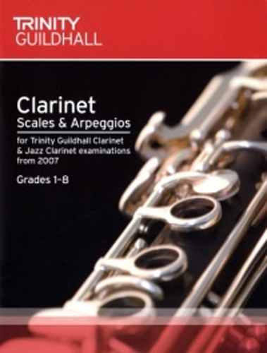 Trinity Clarinet & Jazz Scales & Arps from 2007