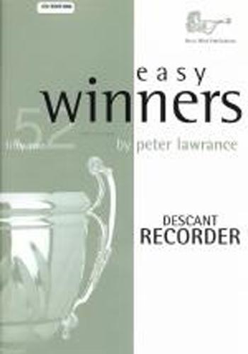 Easy Winners Lawrance Descant Recorder Book & Cd