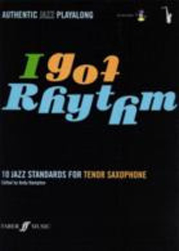 I Got Rhythm Tenor Saxophone Book & Cd