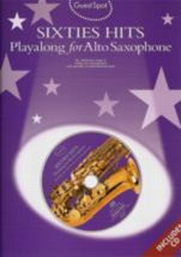 Guest Spot 60s Hits Alto Saxophone Book & Cd