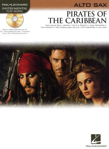 Pirates Of The Caribbean Alto Sax Book & Cd