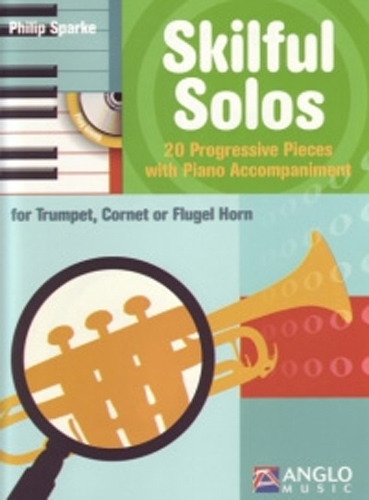 Skilful Solos Trumpet Sparke Book & Cd