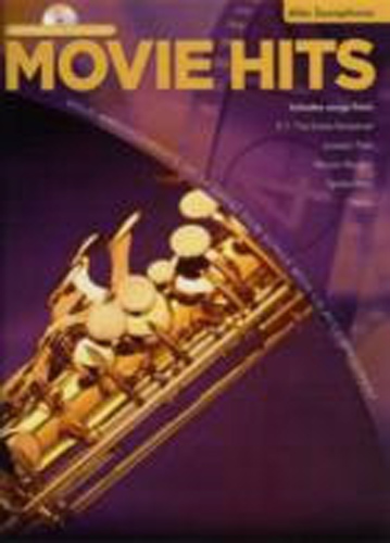 Movie Hits Instrumental Playalong Alto Sax Bk Cd