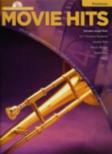 Movie Hits Instrumental Playalong Trombone Book&Cd