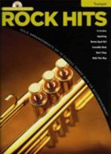 Rock Hits Instrumental Playalong Trumpet Book & Cd