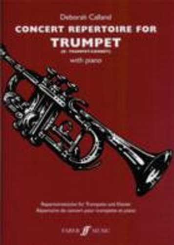 Concert Repertoire For Trumpet Calland