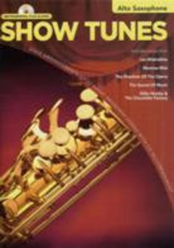 Show Tunes Instrumental Playalong Alto Sax Book Cd