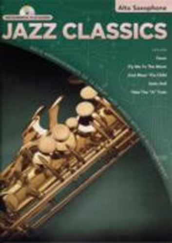 Jazz Classics Alto Saxophone Book & Cd