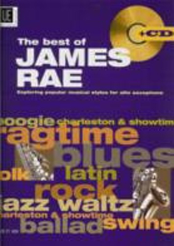 James Rae Best Of Alto Sax Book & Cd