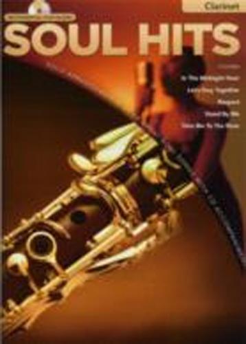 Soul Hits Instrumental Play-Along Clarinet Bk & Cd