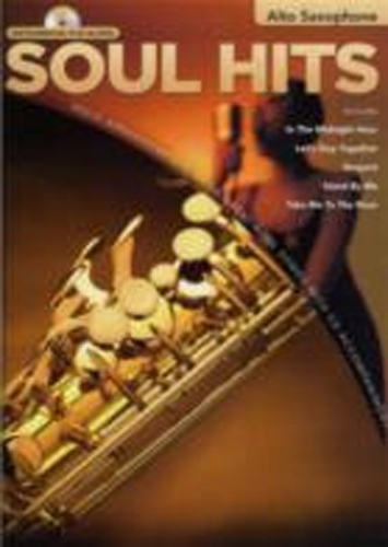 Soul Hits Instrumental Play-Along Alto Sax Bk&Cd