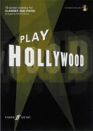 Play Hollywood Clarinet Book & Cd