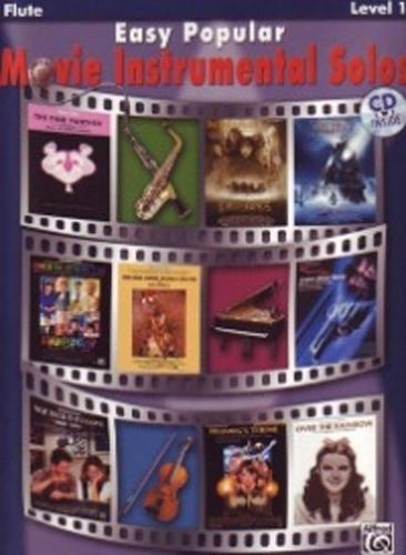Easy Popular Movie Instrumental Solos Flute + Cd