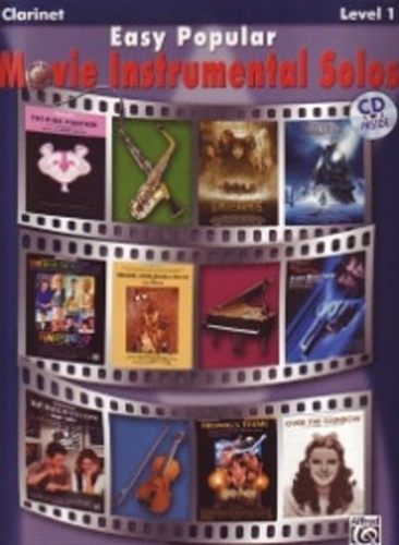 Easy Popular Movie Instrumental Solos Clarinet/Cd