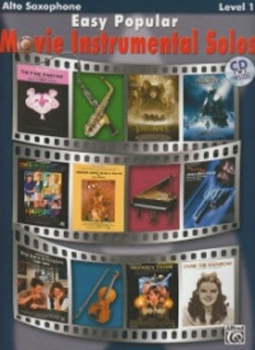Easy Popular Movie Instrumental Solos Alto Sax+Cd