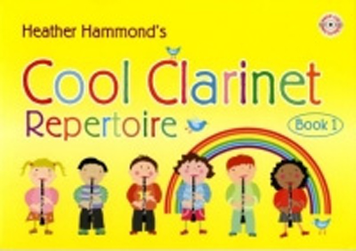 Cool Clarinet Repertoire Bk 1 Hammond Student +Cd