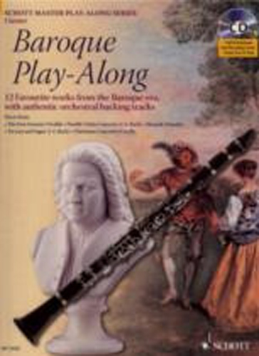 Baroque Play Along Clarinet Book & Cd