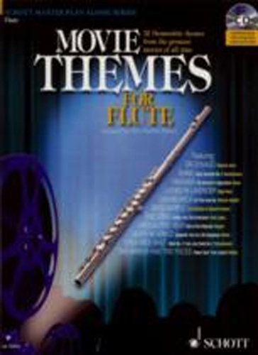Movie Themes Flute Book & Cd
