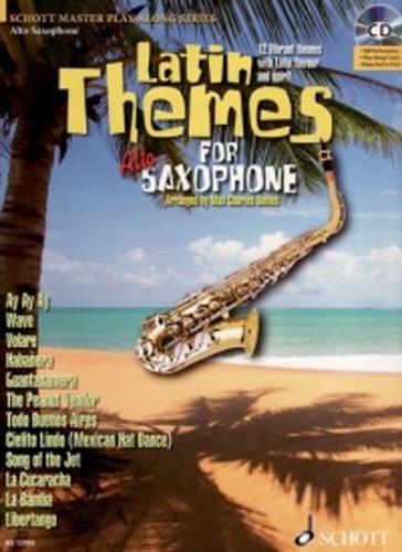 Latin Themes Alto Saxophone Book & Cd