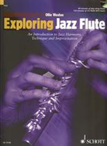 Exploring Jazz Flute Weston Book Cd