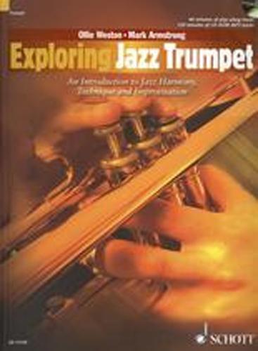 Exploring Jazz Trumpet Weston Book & Cd