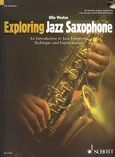 Exploring Jazz Saxophone Weston Alto Book & Cd