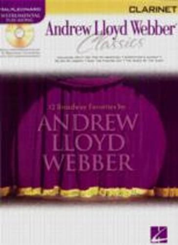 Andrew Lloyd Webber Classics Clarinet Book/Cd