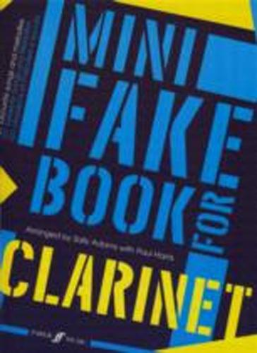 Mini Fake Book Clarinet Adams/Harris
