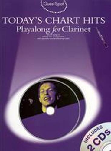 Guest Spot Todays Chart Hits Clarinet Book & Cds