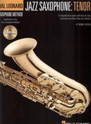 Hal Leonard Jazz Saxophone Tenor Book & Cd
