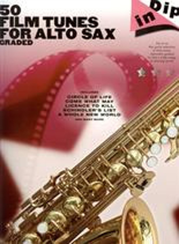 Dip In 50 Graded Film Tunes Alto Sax