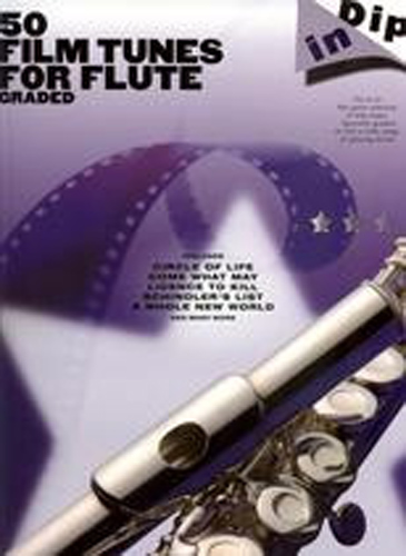Dip In 50 Graded Film Tunes Flute