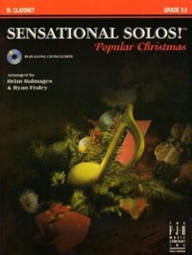 Sensational Solos Popular Christmas Clarinet + Cd