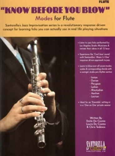 Know Before You Blow Modes for Flute + Cd