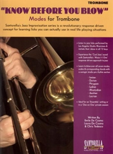 Know Before You Blow Modes for Trombone + Cd