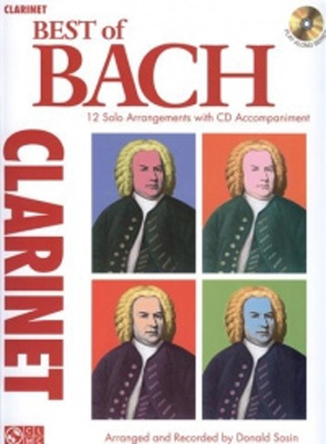 Bach Best Of Clarinet Book & Cd