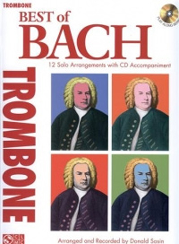 Bach Best Of Trombone Book & Cd