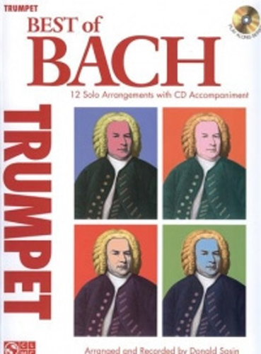 Bach Best Of Trumpet Book & Cd