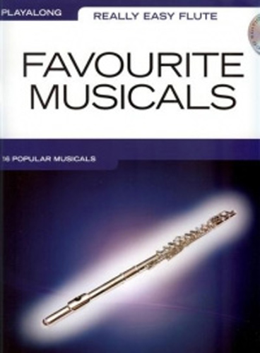 Really Easy Flute Favourite Musicals + Cd