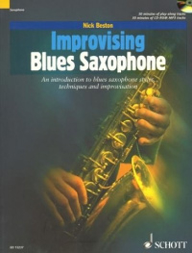 Improvising Blues Saxophone Beston Book & Cd