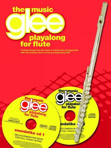 Glee Playalong Flute The Music Book & Cds