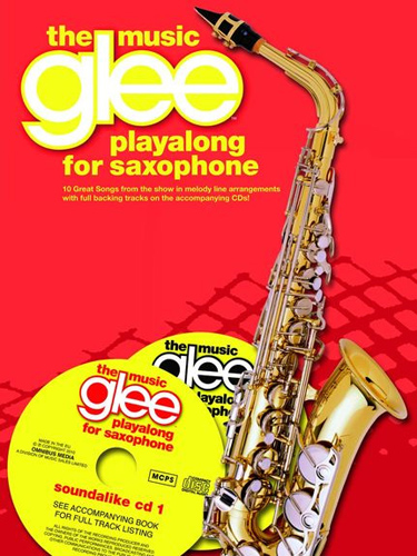 Glee Playalong Alto Sax The Music Book & Cds