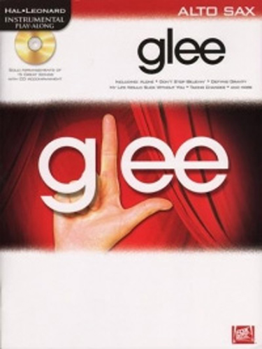 Glee Instrumental Play Along Alto Sax Book & Cd