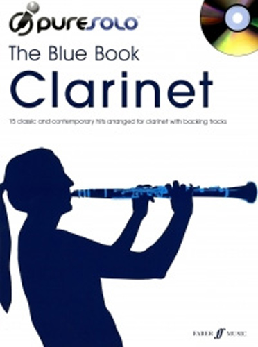 Pure Solo The Blue Book Clarinet Book & Cd
