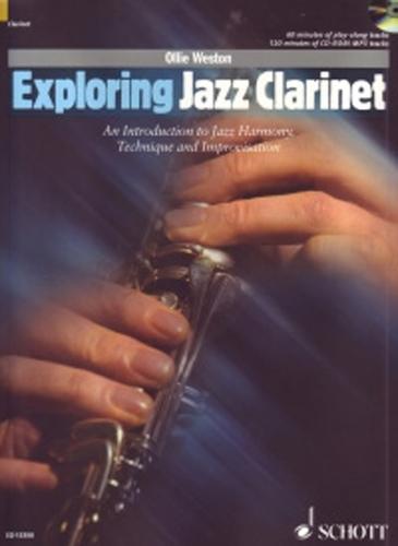 Exploring Jazz Clarinet Weston Book & Cd