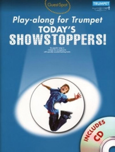 Guest Spot Todays Showstoppers Trumpet Book & Cd